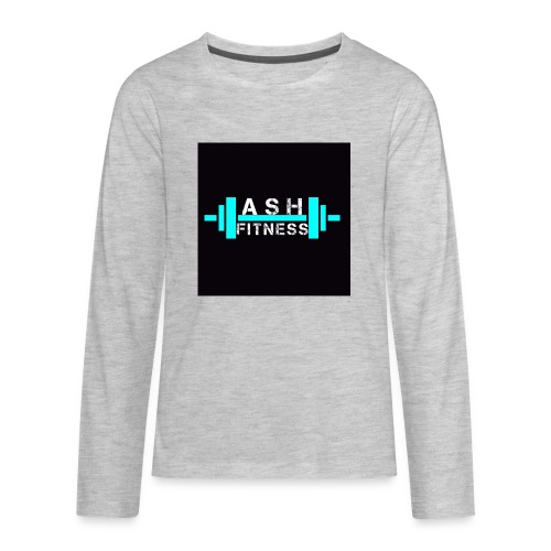 ASH FITNESS ACCESSORIES - Kids' Premium Long Sleeve T-Shirt