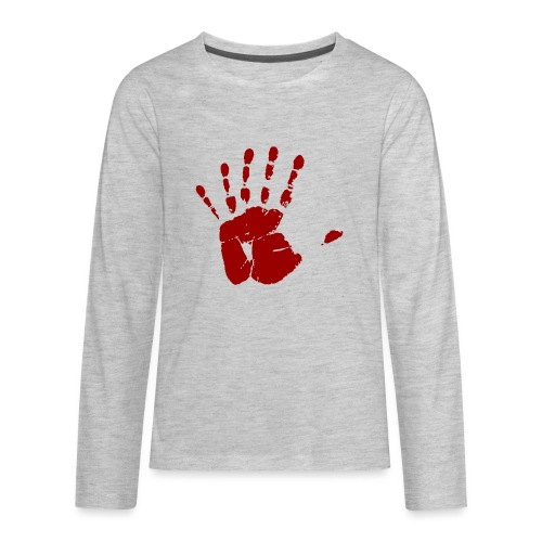 Six Fingers - Kids' Premium Long Sleeve T-Shirt