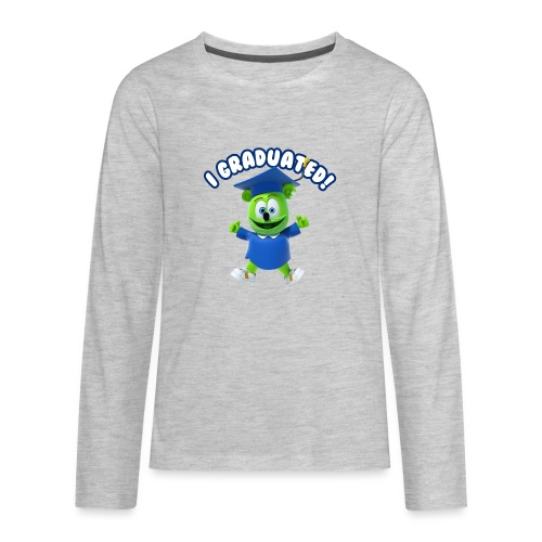 I Graduated! Gummibar (The Gummy Bear) - Kids' Premium Long Sleeve T-Shirt