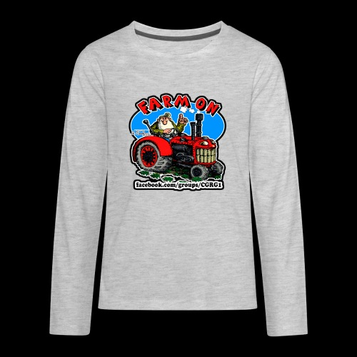 Mr Natural Farm On - Kids' Premium Long Sleeve T-Shirt