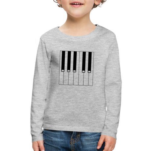 Piano - Kids' Premium Long Sleeve T-Shirt