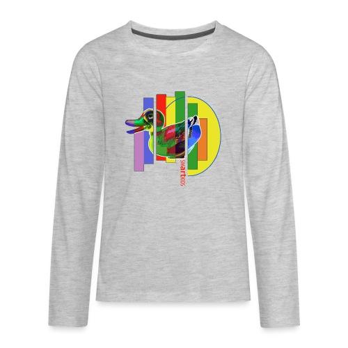 smARTkids - Gutsy Duck - Kids' Premium Long Sleeve T-Shirt