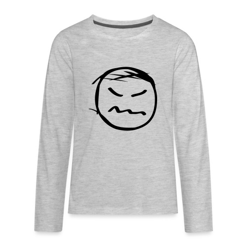 kicky head solo - Kids' Premium Long Sleeve T-Shirt