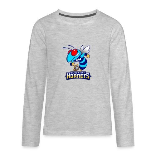 Hornets FINAL - Kids' Premium Long Sleeve T-Shirt