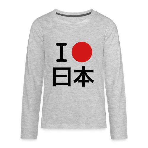 I [circle] Japan - Kids' Premium Long Sleeve T-Shirt