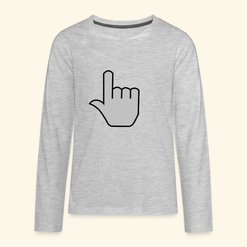 click - Kids' Premium Long Sleeve T-Shirt