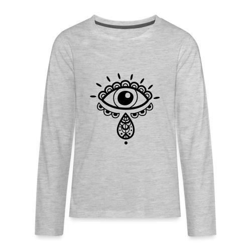 Cosmos 'Teardrop' - Kids' Premium Long Sleeve T-Shirt