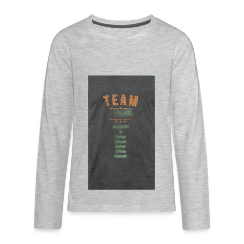 Team 10JR official - Kids' Premium Long Sleeve T-Shirt