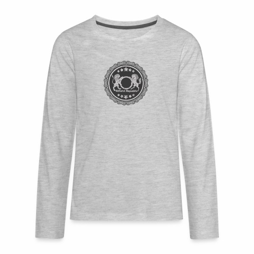 Atheist Republic Logo - Gear Circle - Kids' Premium Long Sleeve T-Shirt