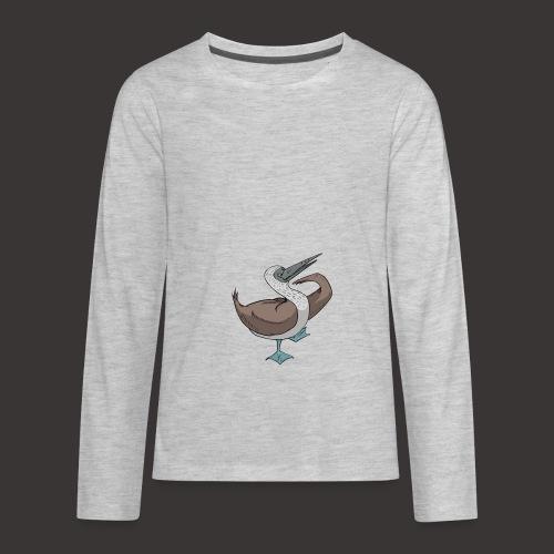 Boobie Bird Mating dance - Kids' Premium Long Sleeve T-Shirt