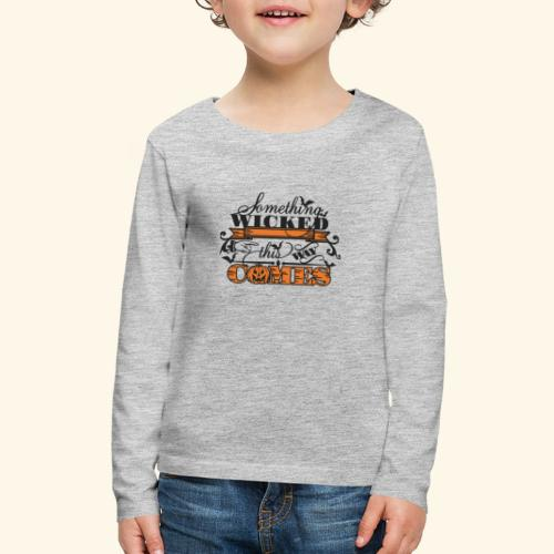 HALLOWEEN TEE - Kids' Premium Long Sleeve T-Shirt