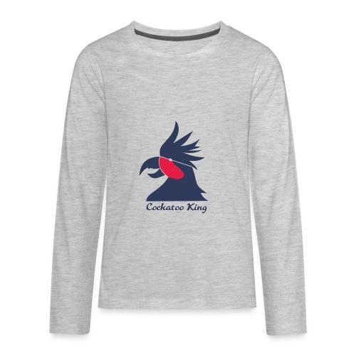 Cockatoo Logo - Kids' Premium Long Sleeve T-Shirt