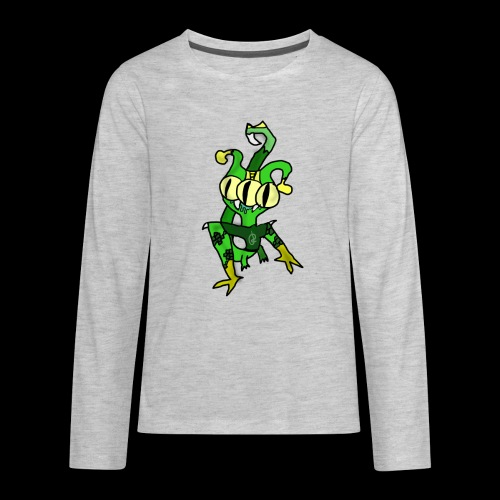 Three-Eyed Alien - Kids' Premium Long Sleeve T-Shirt