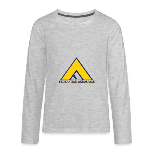 Federation Aerospace - Kids' Premium Long Sleeve T-Shirt