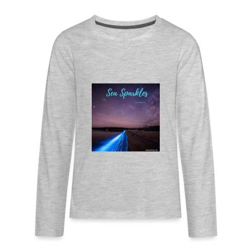 Tasmanian Sea Sparkles - Kids' Premium Long Sleeve T-Shirt