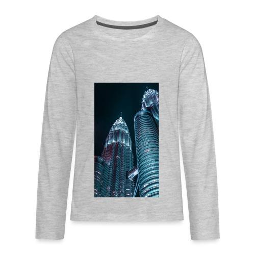 C0618608 28FC 4668 9646 D9AC4629B26C - Kids' Premium Long Sleeve T-Shirt