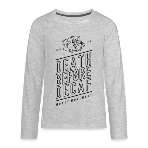 coffee cup - Kids' Premium Long Sleeve T-Shirt