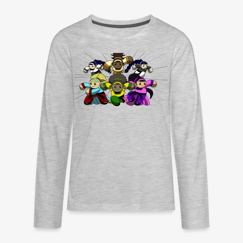The Guardians of the Cloudgate, no logo - Kids' Premium Long Sleeve T-Shirt