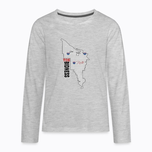 Toe Bidness - Kids' Premium Long Sleeve T-Shirt