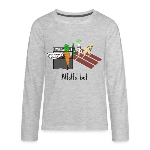 Alfalfa Bet - Kids' Premium Long Sleeve T-Shirt