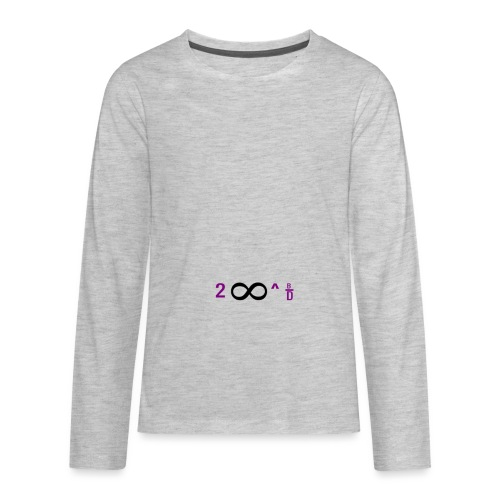 To Infinity And Beyond - Kids' Premium Long Sleeve T-Shirt