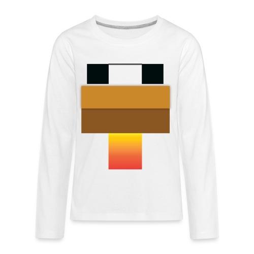 chicken Head - Kids' Premium Long Sleeve T-Shirt