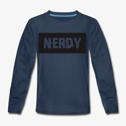 NerdyMerch - Kids' Premium Long Sleeve T-Shirt