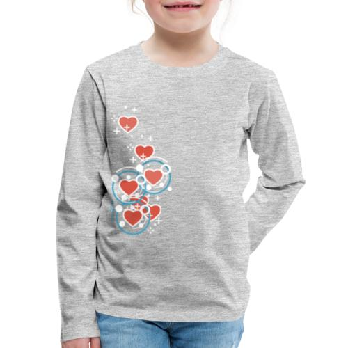 SuperHearts - Kids' Premium Long Sleeve T-Shirt