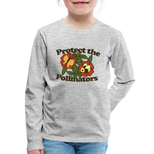Protect the pollinators - Kids' Premium Long Sleeve T-Shirt