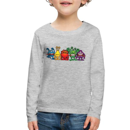 Alien Friends - Kids' Premium Long Sleeve T-Shirt