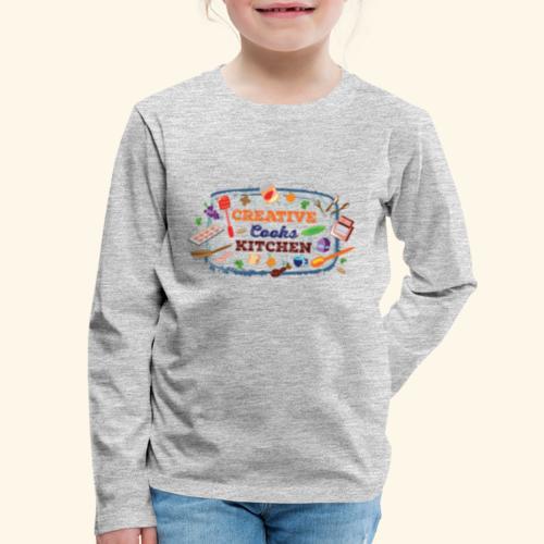 Creative Cooks Kitchen - Kids' Premium Long Sleeve T-Shirt
