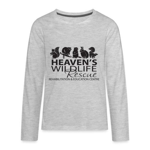 Heaven's Wildlife Rescue - Kids' Premium Long Sleeve T-Shirt