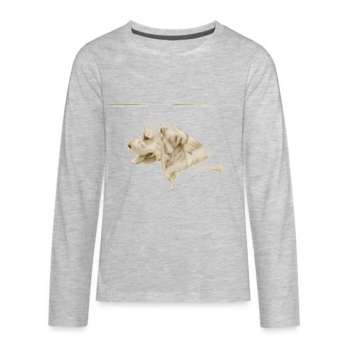 Dog TShirt - Kids' Premium Long Sleeve T-Shirt