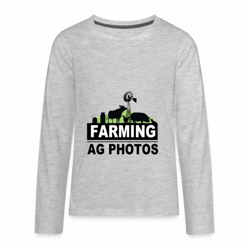 Farming Ag Photos - Kids' Premium Long Sleeve T-Shirt