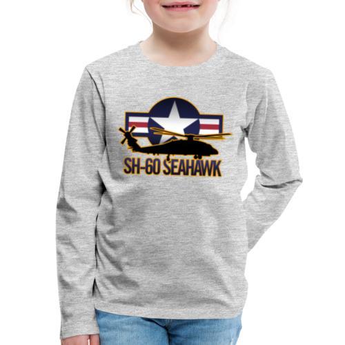 SH 60 sil jeffhobrath MUG - Kids' Premium Long Sleeve T-Shirt