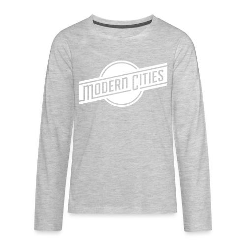 Modern Cities - Kids' Premium Long Sleeve T-Shirt