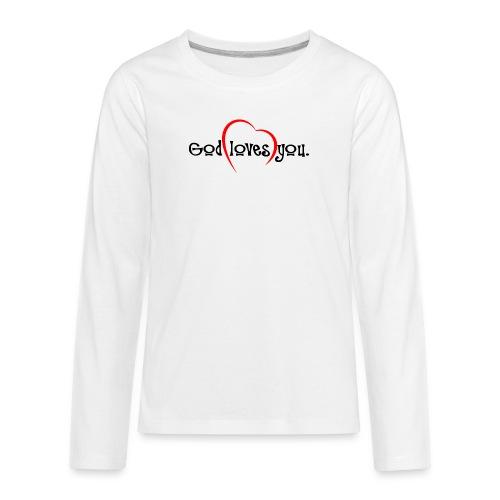 God Loves You 103 - Kids' Premium Long Sleeve T-Shirt