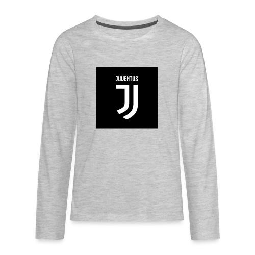22eeb15f2fa Juventus t shirt - Kids  Premium Long Sleeve T-Shirt