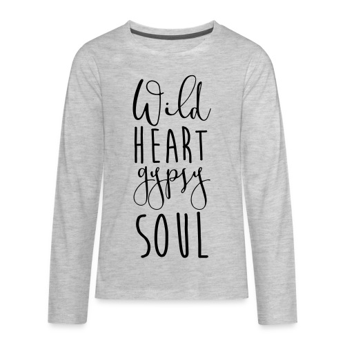 Cosmos 'Wild Heart Gypsy Sould' - Kids' Premium Long Sleeve T-Shirt