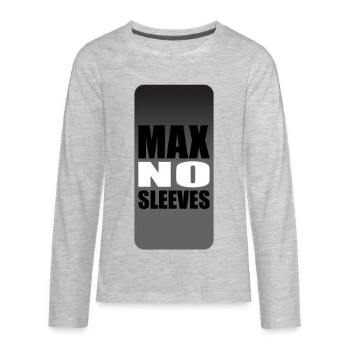 nosleevesgrayiphone5 - Kids' Premium Long Sleeve T-Shirt