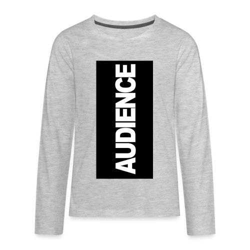 audenceblack5 - Kids' Premium Long Sleeve T-Shirt