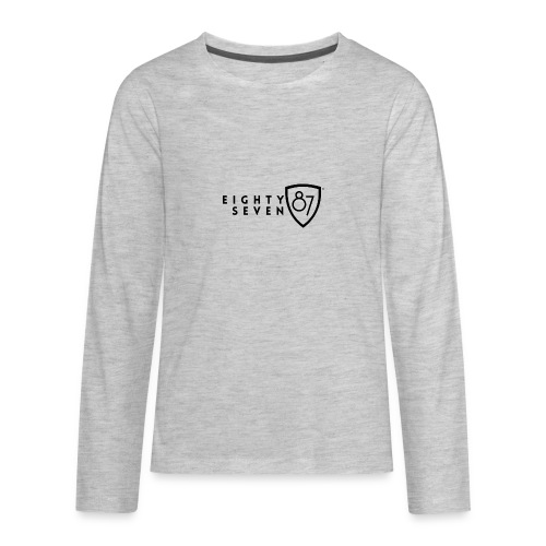2021 eighty87seven NEW S12 - Kids' Premium Long Sleeve T-Shirt