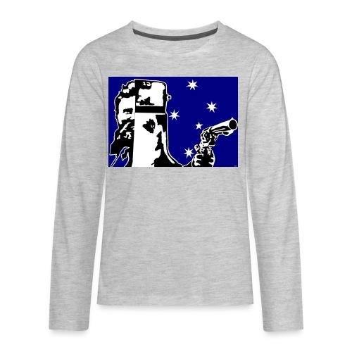 NED KELLY - Kids' Premium Long Sleeve T-Shirt