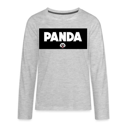 PandaSavageLogo - Kids' Premium Long Sleeve T-Shirt