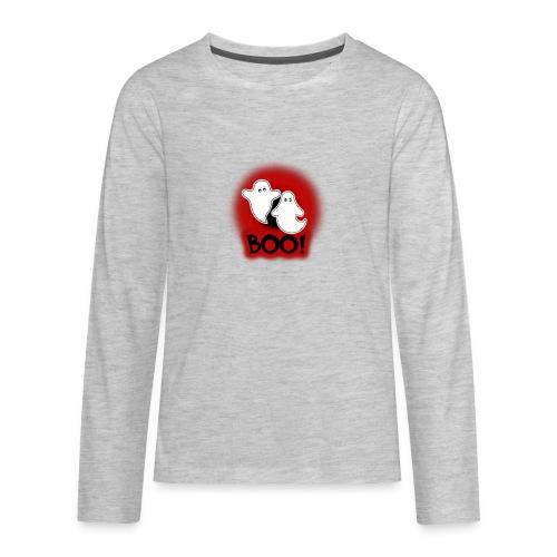 Ghosties Boo Happy Halloween 4 - Kids' Premium Long Sleeve T-Shirt