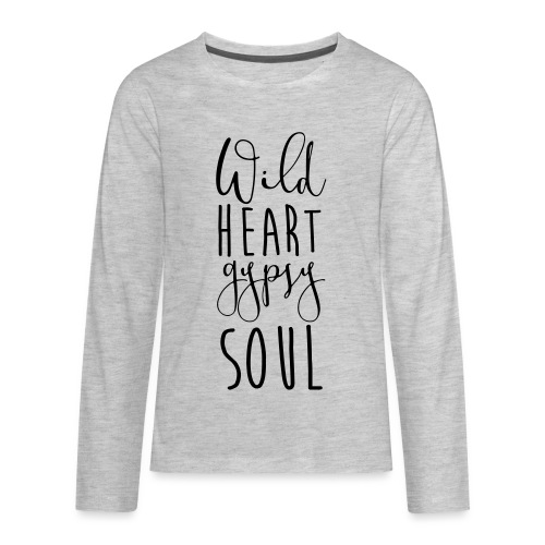 Cosmos 'Wild Heart Gypsy Sould' - Kids' Premium Long Sleeve T-Shirt