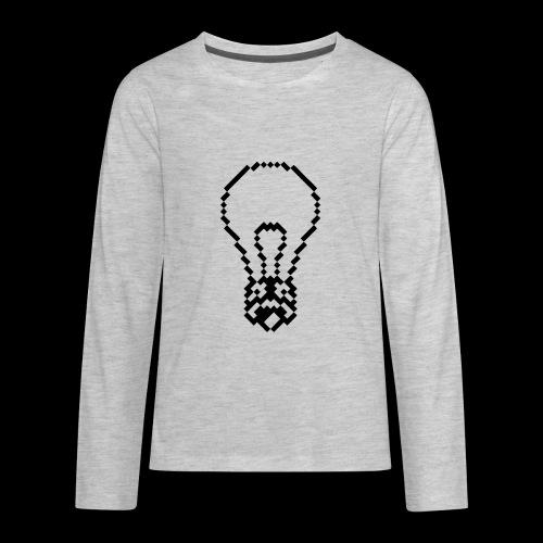 lightbulb - Kids' Premium Long Sleeve T-Shirt