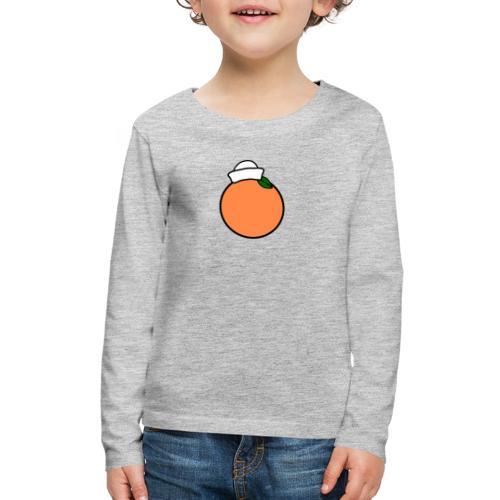 Naval Orange - Kids' Premium Long Sleeve T-Shirt