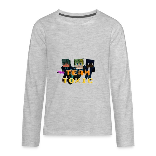 TeamToxic Merch Design 1 - Kids' Premium Long Sleeve T-Shirt