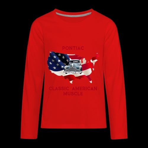 PONTIAC MUSCLE - Kids' Premium Long Sleeve T-Shirt